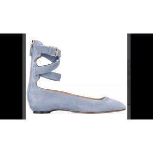 Valentino Garavani Ankle Strap Ballerina 36 1/2